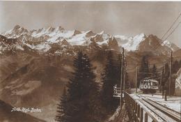 ARTH-RIGI-BAHN → Partie Wölfertschen-First, Fotokarte Ca.1930 - SZ Schwyz