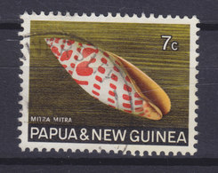 Papua New Guinea 1969 Mi. 143  7c. Meeres Schnecke Shell - Papouasie-Nouvelle-Guinée