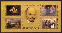 SOWJETUNION BLOCK 191 ** 117. GEBURTSTAG LENIN - Lenin