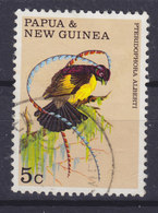 Papua New Guinea 1970 Mi. 175  5c. Bird Vogel Oiseau König Albert Paradisvogel - Papouasie-Nouvelle-Guinée