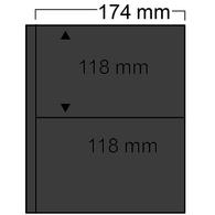 Safe Compact Ergänzungsblätter Schwarz 7878 Neu (VE) 10 Blätter ( - Alben & Binder