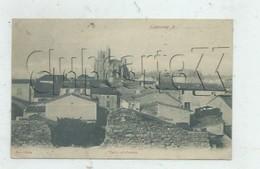 Capestang (34) : Les Toits Vue Vers La Collégiale Saint-Étienne  En 1905  PF. - Capestang