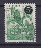 Papua New Guinea 1957 Mi. 25  5p. Auf 1p. Braunes Baumkänguruh Aufdruck Overprinted - Papua-Neuguinea