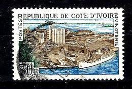 COTE D'IVOIRE 273° 30f Vert, Brun Et Bleu Industrialisation Minoterie (10% De La Cote + 015) - Côte D'Ivoire (1960-...)