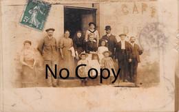 Nexon (87) - Rue Du Nord - Carte Photo De La Famille - Autres Communes