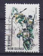 Papua New Guinea 1967 Mi. 121  20c. Kokoda Trail Start Of WWII Infantaristen Im Anmarsch - Papouasie-Nouvelle-Guinée