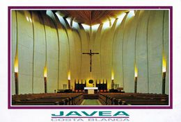 1 AK Spanien * Innenansicht Der Kirche Santa Maria De Loreto In Der Stadt Xàbia (spanisch Jávea) - Provinz Alicante * - Alicante