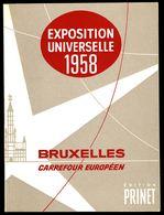 """"""" EXPOSITION UNIVERSELLE 1958 """" - Petit Album édité Par PRINET. - Albums & Reliures"""
