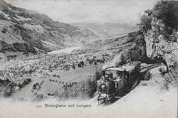 BRÜNIGBAHN → Dampfzug Oberhalb Lungern Anno 1904 - OW Obwald