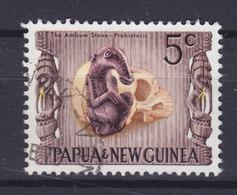 Papua New Guinea 1970 Mi. 171  5c. Nationales Kulturerbe (II) Kultfigur Aus Dem Ambum-Tal - Papouasie-Nouvelle-Guinée