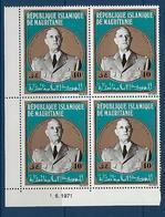 """Mauritanie Coins Datés YT 293 """" Gal De Gaulle """" Neuf** Du 1.6.1971 - Mauritania (1960-...)"""
