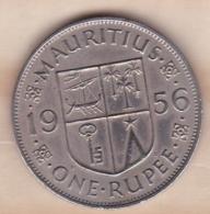 ILE MAURICE / MAURITIUS . ONE RUPEE 1956 . ELIZABETH II - Mauritius