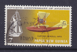 Papua New Guinea 1972 Mi. 223  7c. Luftfahrt Aviation Curtiss Seagull 'MF 6' Aeroplane Flugzeug - Papouasie-Nouvelle-Guinée
