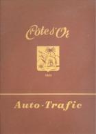 """Jeu De L'oie Publicitaire - Chocolat """" Côte D' Or """" Auto - Trafic , Code De La Route, Bilingue - Jouet,... (gr) - Publicités"""