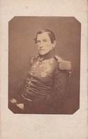 Léopold Ier Roi Des Belges Avant 1865. Photo Cdv Originale Papier Salé. Sans Nom De Photographe - Célébrités