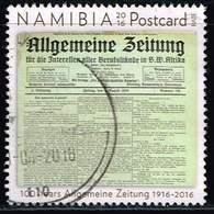 Namibia 2016, Michel# 1531 O 100 Years Allgemeine Zeitung - Namibie (1990- ...)