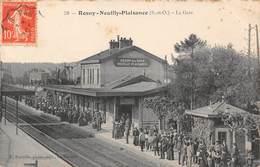 ROSNY SOUS BOIS - NEUILLY PLAISANCE - La Gare - Rosny Sous Bois