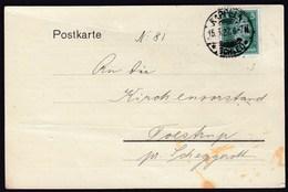 Germany Deutsches Reich Kappeln 1927 / Postkarte / Schlei - Bote, Anzeigen - Rechnung - Deutschland