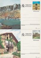 1989 España. Entero Postales Turismo (Edif.147/148)**  2v - Enteros Postales