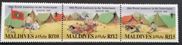 Maldive Islands  1995 Boy Scout  Jamboree,Holland - Stamps
