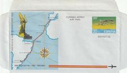1981 España. Aerogramas (Edif.201/202)**  2v Avión Avion Plane - Enteros Postales