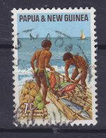 Papua New Guinea 1971 Mi. 207  7c. Einheimische Erwebszweige Tausch Der Küstenbewohner - Papouasie-Nouvelle-Guinée