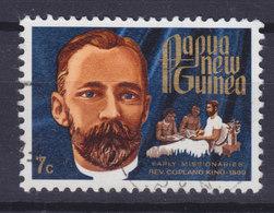 Papua New Guinea 1972 Mi. 230  7c. Missionär Missionairy Rev. Copeland King, 1890 - Papouasie-Nouvelle-Guinée