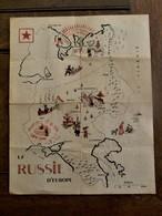 Oude Kaart Van RUSSIE  D'  EUROPE - Autres