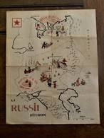 Oude Kaart Van RUSSIE  D'  EUROPE - Other