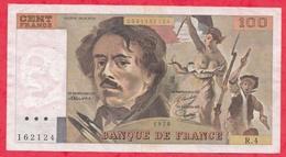 """100 Francs """"Delacroix"""" 1978 ---Fayette -F69 (01c) Série R4 - -VP/SUP - 1962-1997 ''Francs''"""