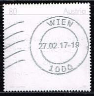 Österreich 2016, Michel# 3246 O Factor Future - Blind-tooling Inscription - 1945-.... 2. Republik