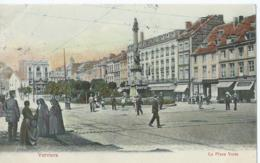 Verviers - La Place Verte - Artist. Atelier H. Guggenheim & Co - No 12266 - 1911 - Verviers