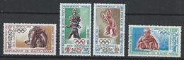 Haute-Volta YT PA 54-57 XX / MNH Jeux Olympique Sport Poterie - Haute-Volta (1958-1984)