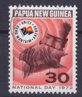 Papua New Guinea 1972 Mi. 229  30c. Nationalfeiertag Schneckenschale Als Blasinstrument - Papouasie-Nouvelle-Guinée