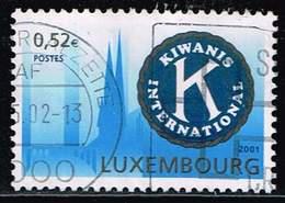Luxemburg 2001, Michel# 1558 O Kiwanis International - Luxemburg