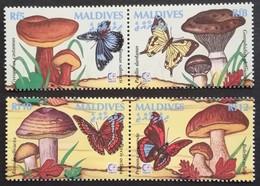"""Maldive Islands  Singapore """"95 - Timbres"""