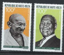 Haute-Volta YT PA 61-62 XX / MNH Gandhi Luthuli - Upper Volta (1958-1984)
