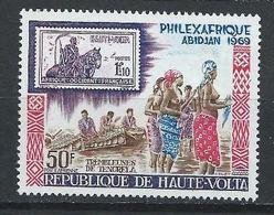 Haute-Volta YT PA 63 XX / MNH Timbre Sur Timbre - Upper Volta (1958-1984)