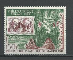"Mauritanie Aerien YT 84 (PA) "" Philexafrique"" 1969 Neuf** - Mauritania (1960-...)"