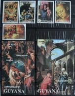 Guyana 1991 Christmas Art Rubens, Raphaël, Dürer, Tiziano **MNH - Guyane (1966-...)
