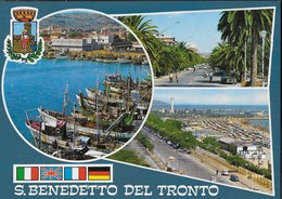 MARCHE - S. BENEDETTO DEL TRONTO - VEDUTE  - VIAGGIATA 1997 - Italia