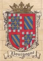 Blason - Bourgogne - Cartes Postales