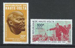 Haute-Volta YT PA 76-77 XX / MNH Lénine - Upper Volta (1958-1984)