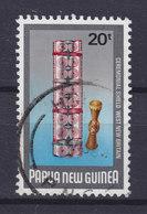 Papua New Guinea 1984 Mi. 480  20 T Zeremonienschilde Schild Und Kilange - Papouasie-Nouvelle-Guinée
