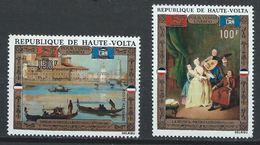Haute-Volta YT PA 100-101 XX / MNH Longhi Art Peinture - Haute-Volta (1958-1984)