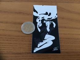 AUTOCOLLANT, Sticker «LE PETIT VAPOTEUR» (pin-up, Sexy) - Autocollants