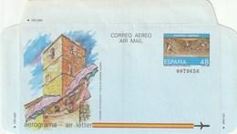 1986 España. Aerograma (Edif.211)** 1v - Enteros Postales