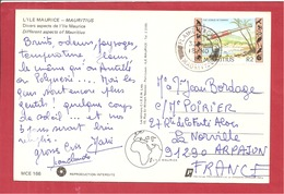 Y&T N°553 PLAINE MACIENE  Vers FRANCE - Mauritius (1968-...)