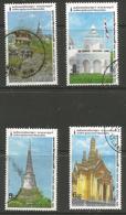 Thailand - 1989 Phra Nakhon Khiri Park Used   Sc 1300-03 - Thailand