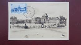 Carte Maximum France N° 379  Château De Versailles Avril 1939 Versailles Congres - Maximum Cards